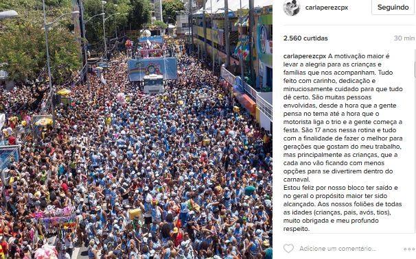 Carla Perez (Foto: Instagram / Reprodução)