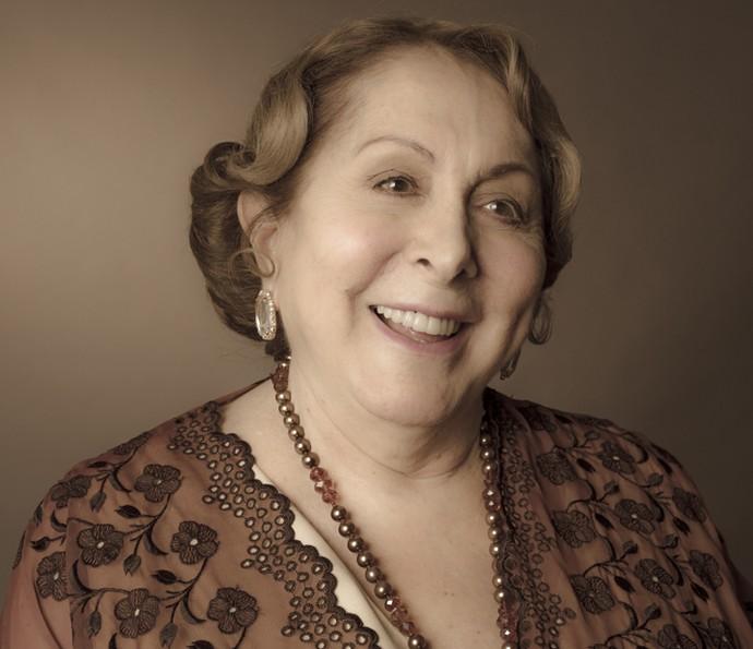 Aracy Balabanian será uma mulher de bem com a vida (Foto: Ellen Soares/Gshow)