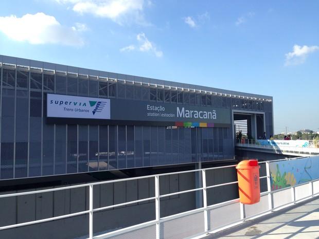 Estação Macaranã da Supervia será ponto de venda de ingressos para os Jogos Olímpicos do Rio (Foto: Reprodução)
