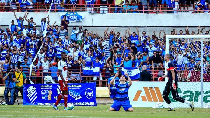 CSA x Ituano, no Estádio Rei Pelé (Foto: Ailton Cruz / Gazeta de Alagoas)