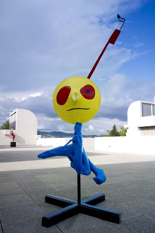 'Mulher e Pássaro', de Joan Miró (Foto: Successión Miró/Divulgação)
