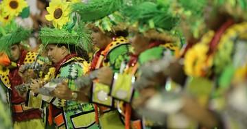 Sapucaí recebe  o Desfile das  Campeãs; SIGA (Rodrigo Gorosito / G1)