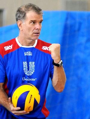 Bernardinho treino vôlei  (Foto: André Durão / Globoesporte.com)