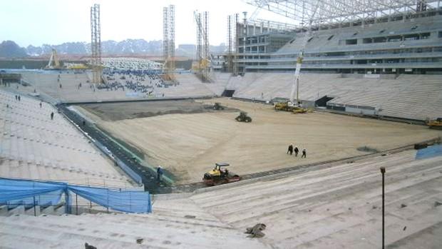Evento Arena Corinthians (Foto: Diego Ribeiro)