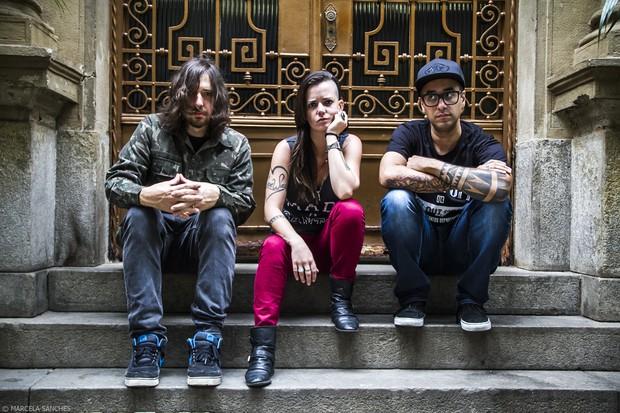 Marcão, Lena e Pinguim, da banda Bula (Foto:  Marcela Sanches/BULA/Divulgação)