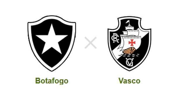 Botafogo e Vasco se enfrentam pela primeira final do Campeonato Carioca (Foto: Reprodução)