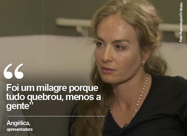 Angélica acredita que pouso foi milagroso (Foto: Reprodução/TV Globo)