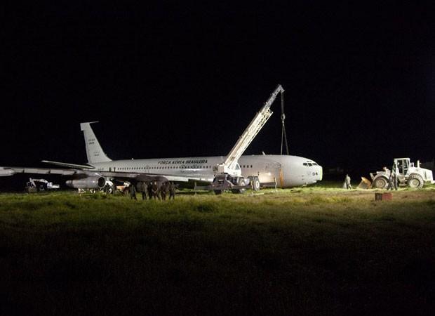 haiti avião FAB (Foto: Alban Mendès de Leon/Minustah/UN)