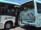 Colisão entre dois ônibus deixa 16 feridos em avenida de Fortaleza