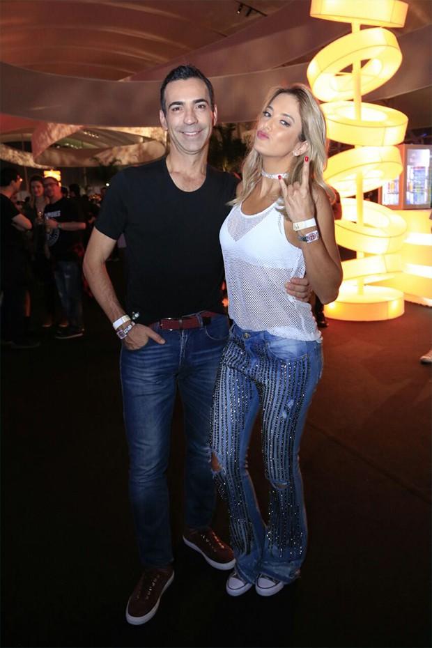 Cesar Tralli e Ticiane Pinheiro (Foto: Marcos Rosa/  Ed. Globo)