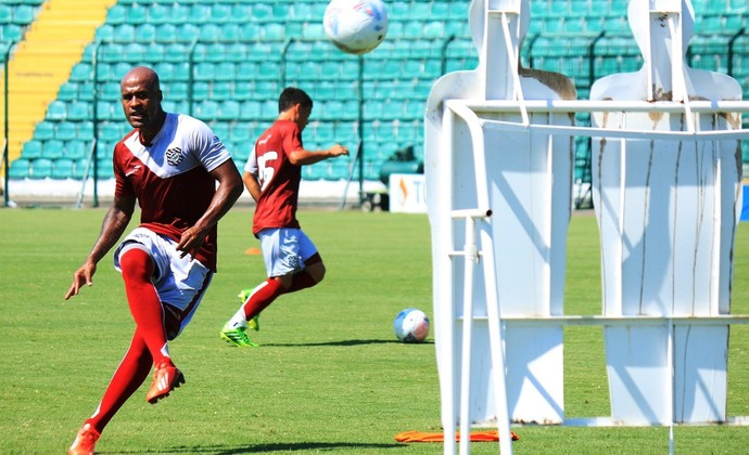 Marcos Assunção Figueirense faltas (Foto: Luiz Henrique/Figueirense F.C)