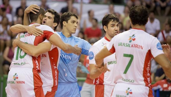 Campinas x Maringá Superliga masculina de vôlei (Foto: Cinara Picollo / Brasil Kirin)