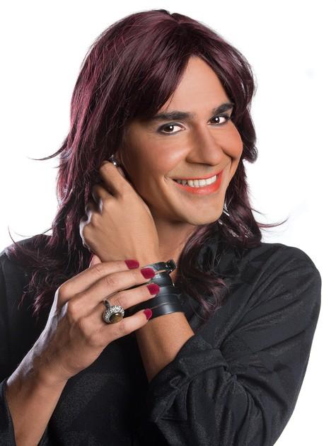 André Gonçalves: mudança radical para peça (Foto: Cláudio Colavolpe)