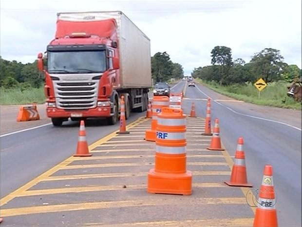 PRF irá aumentar fiscalizações durante feriado de Semana Santa nas estradas federais (Foto: Reprodução/TV Anhanguera)