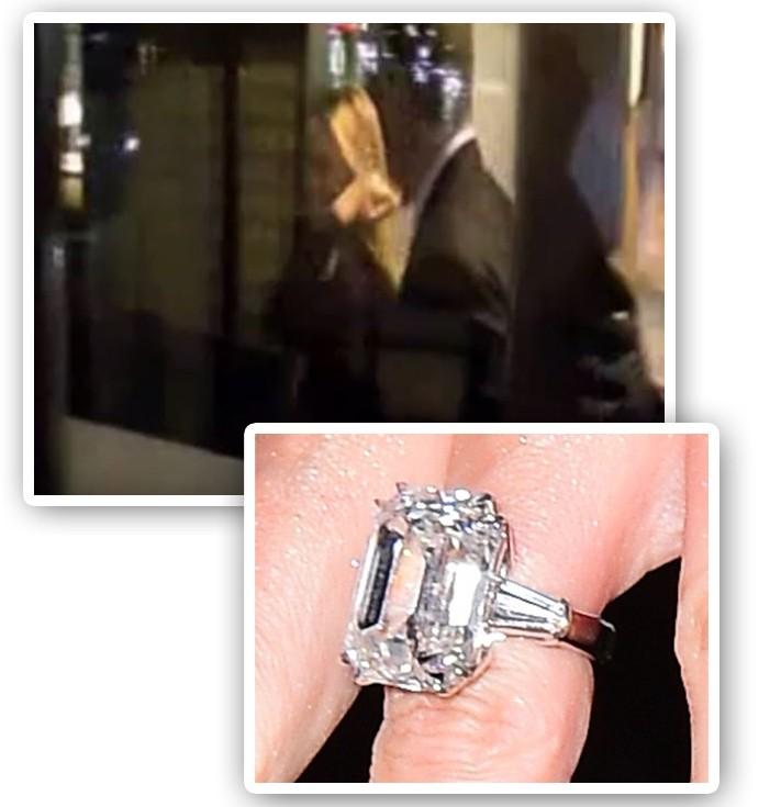 Mariah Carey sai do restaurante onde foi pedida em casamento com anel de mais de R$ 31 milhões (Foto: Youtube/Reprodução)