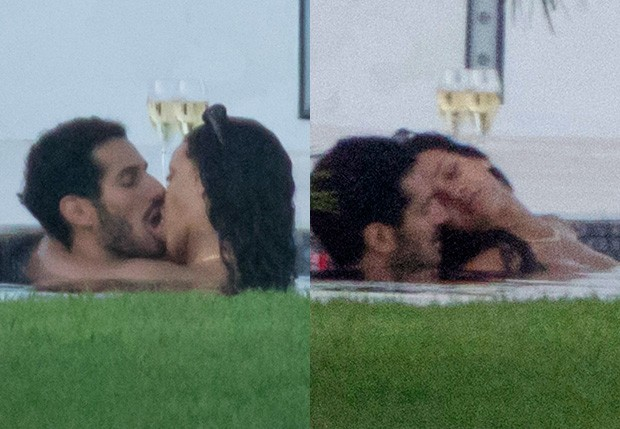 Rihanna e Hassan Jameel (Foto: Grosby Group)