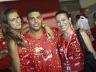 Em família: Cleo Pires curte folia com Ronaldo e namorada, prima da atriz