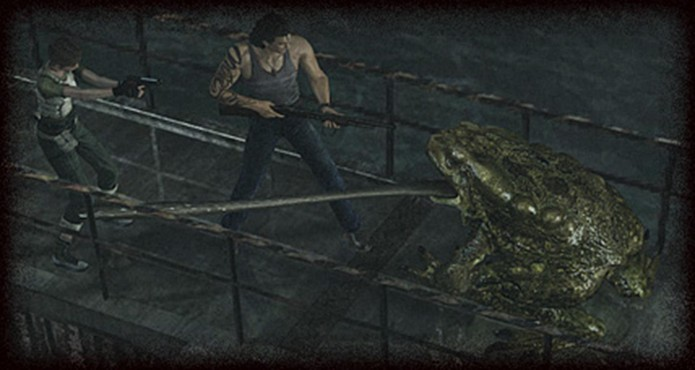 Resident Evil Zero HD Remaster: Lurker pode matar o jogador com apenas um golpe (Foto: Divulgação/Capcom)