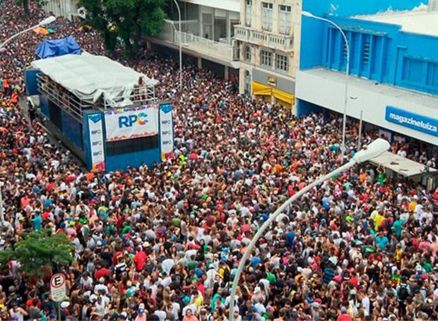 Pre-Carnaval Curitiba (Foto: Reprodução/RPC)