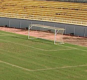 Estádio Florestão, em Rio Branco, capital do Acre (Foto: Reprodução/Rede Amazônica Acre)