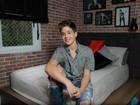João Guilherme abre sua casa após reforma: 'Ficou do jeito que eu queria'