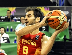 Jose Calderon basquete Espanha  (Foto: EFE)