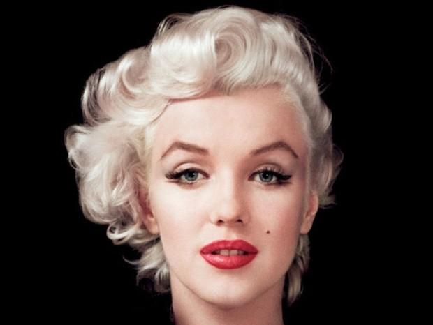 As de Marilyn Monroe deixavam a moldura do seu rosto ainda mais sexy (Foto: getty images)