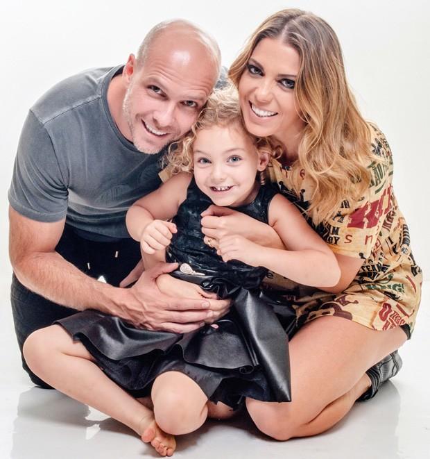 Fernando Scherer, Brenda e Sheila Mello (Foto: Cauê Garcia/CG1 Comunicação (Divulgação))