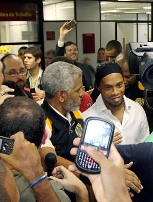 Ronaldinho julgamento Flamengo acordo (Foto: Cezar Loureiro / Agência O Globo)