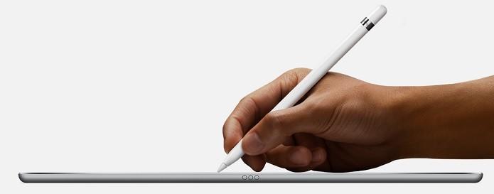 Apple Pencil oferece o dobro de precisão do que os dedos (Foto: Divulgação/Apple)