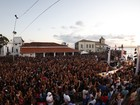 Jammil faz show na Ponta do  Humaitá, em Salvador; FOTOS