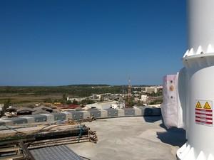 Radar Meteorológico em Macaé (Foto: Júnior Costa/G1 )