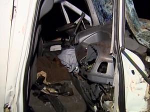 Acidente provocou uma morte e deixou três pessoas feridas (Foto: Arquivo/EPTV)