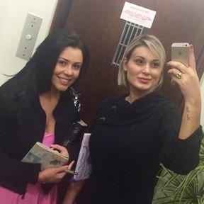 Rebeka Francys e Andressa Urach (Foto: Reprodução/Instagram)