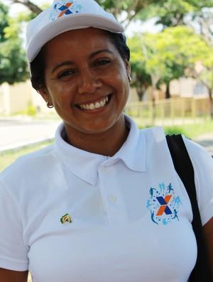 Márcia Araújo Presidente da Federação de Atletismo do Piauí (Foto: Náyra Macêdo/GLOBOESPORTE.COM)