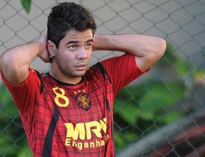 Henrique - Sport (Foto: Aldo Carneiro / Pernambuco Press)