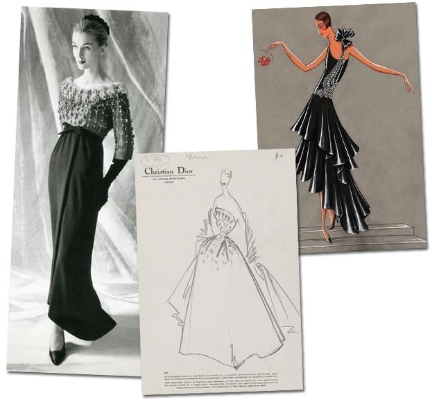 Expo com 100 vestidos históricos de alta-costura abre em Paris ...