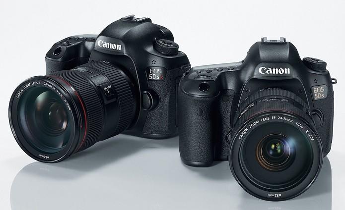 Canon apresentou 5D e 5D R, com especificações top de linha (Foto   Divulgação 4bde136b55