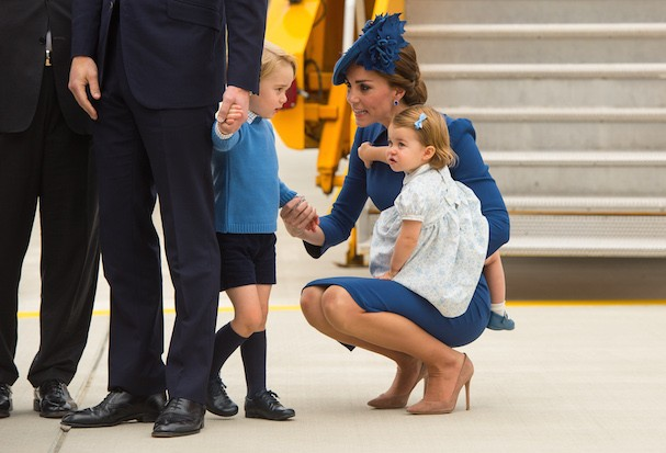 Príncipe George leva bronca de Kate Middleton (Foto: Getty Images)