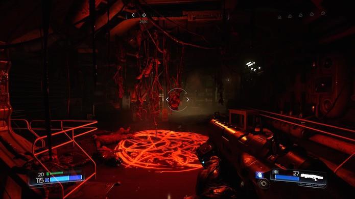Doom: modo multiplayer tem sistema de progressão (Foto: Reprodução/Victor Teixeira)