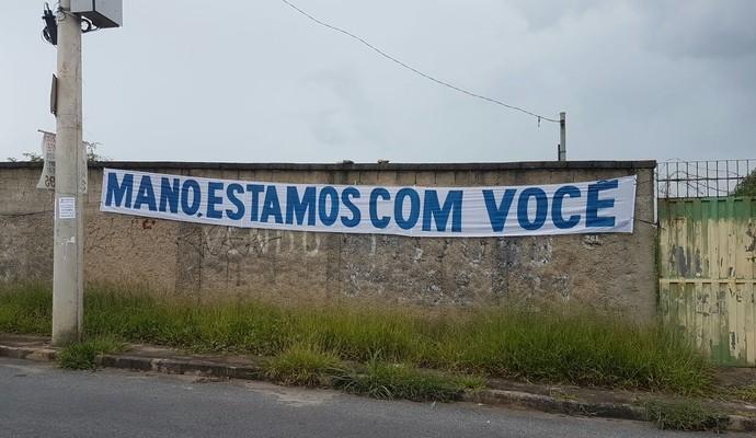 Faixas na Toca da Raposa II (Foto: Marco Antônio Astoni)
