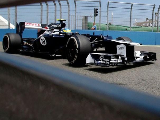 Bruno Senna está otimista para o GP de Cingapura  (Foto: Agência Reuters)