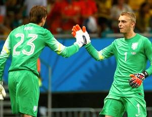 Tim Krul goleiro Holanda (Foto: Reuters)