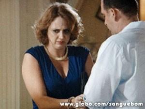 Brenda vai parar atrás das grades (Foto: Sangue Bom / TV Globo)