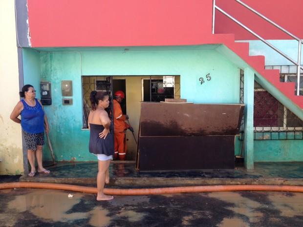 Casa de Lucimeire Coelho (Foto: Ruan Melo/G1)