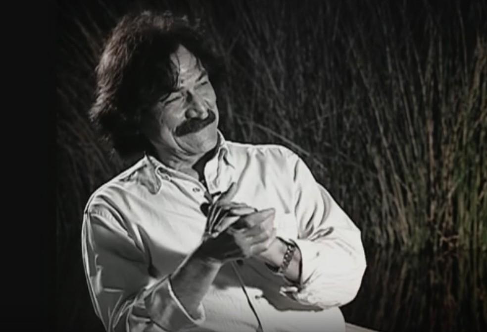 Belchior foi um dos ícones mais enigmáticos da música popular no Brasil (Foto: Reprodução/TV Globo)