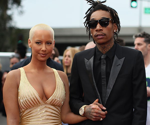 Amber Rose e Wiz Khalifa (Foto: Getty Images)