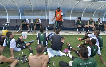 Curso de capacitação esportiva é realizado no estádio da Colina