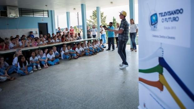 A premiação do Concurso acontece em três fases: municipal, rregional e estadual (Foto: Divulgação/RPCTV)