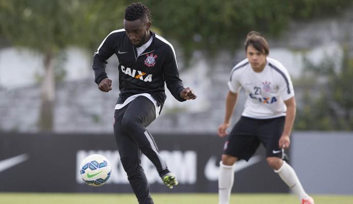Mendoza Romero Corinthians (Foto: Daniel Augusto Jr / Agência Corinthians)